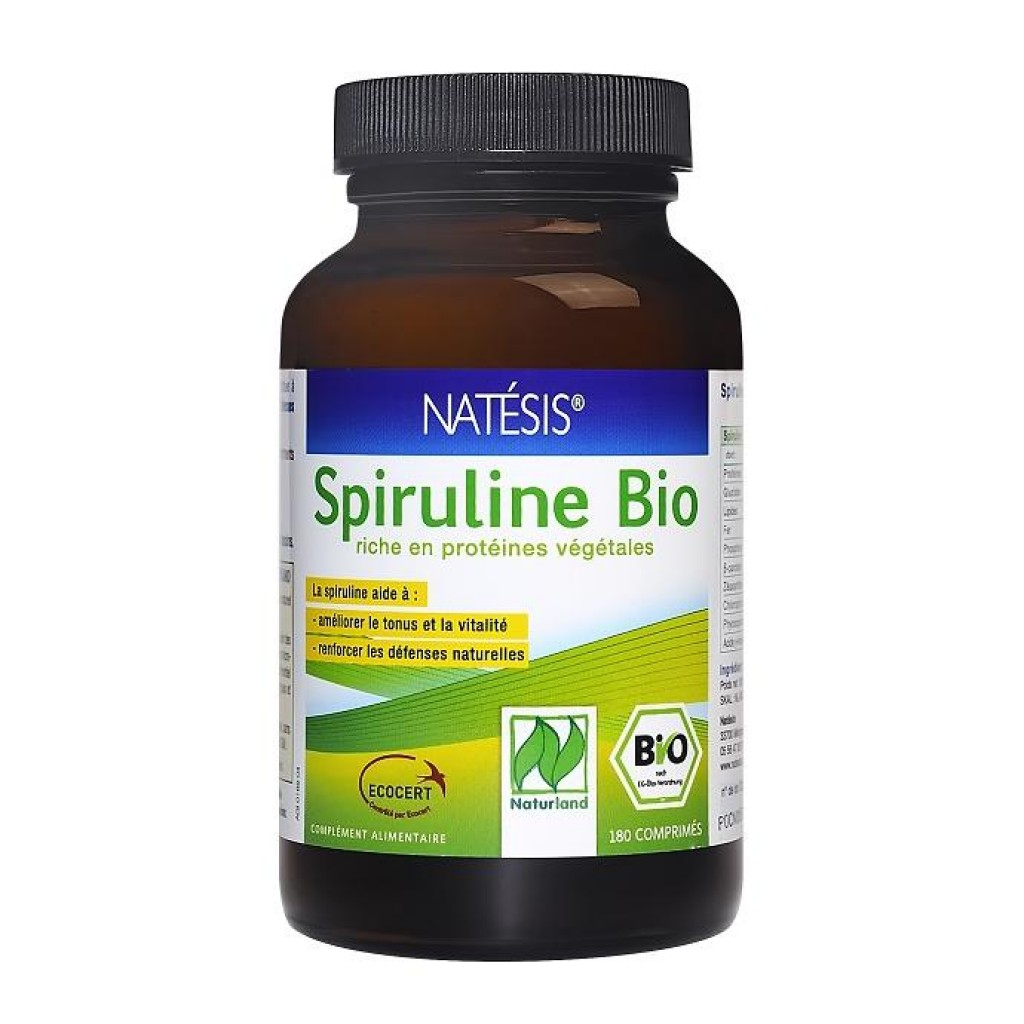 Spiruline bio, une algue au top